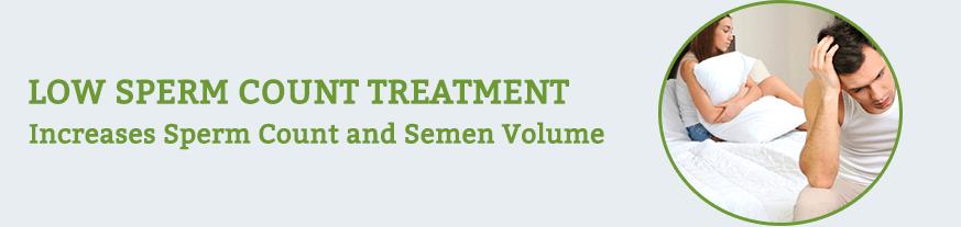 Low Sperm Count Treatment