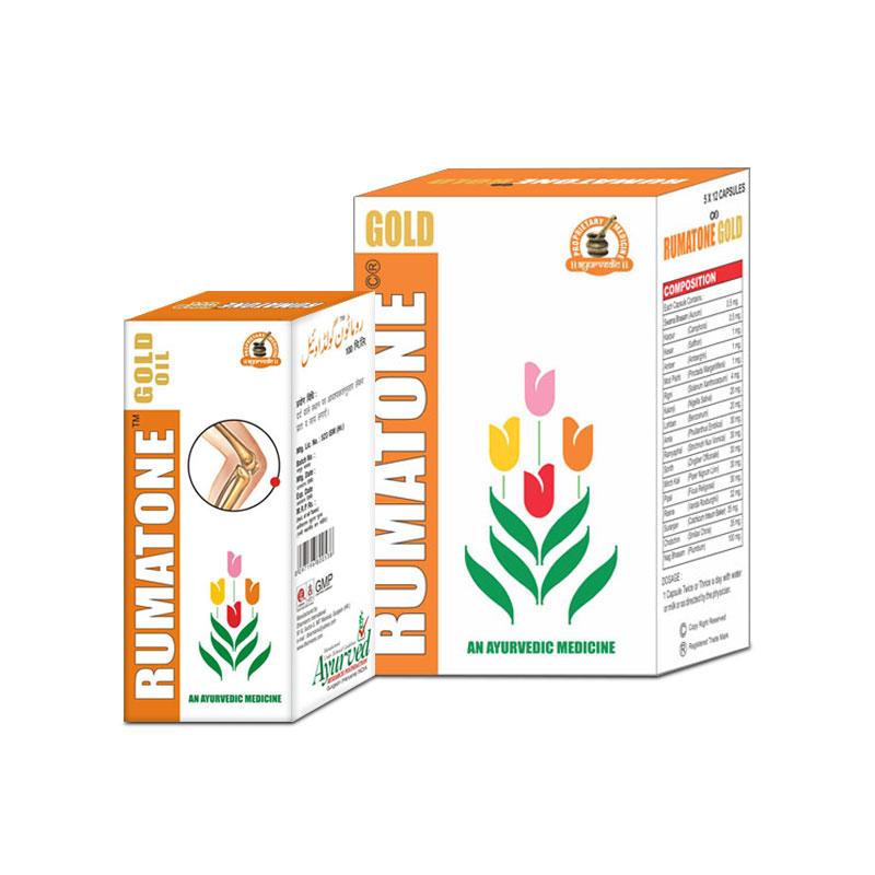 Ayurvedic Herbal Arthritis Joint Pain Relief Pills and Oil