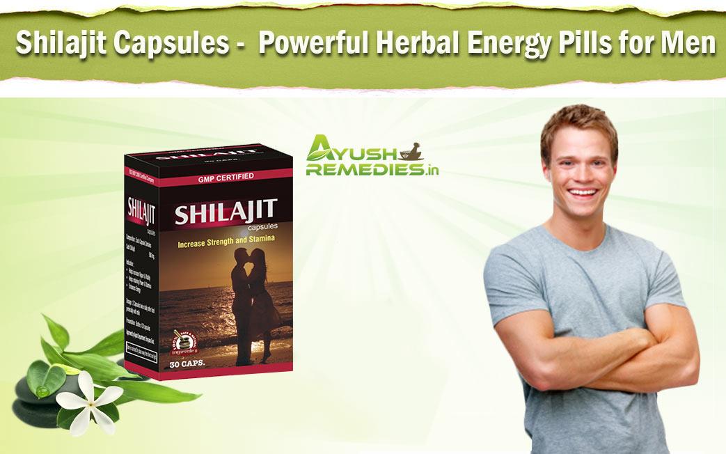 Herbal Energy Pills for Men