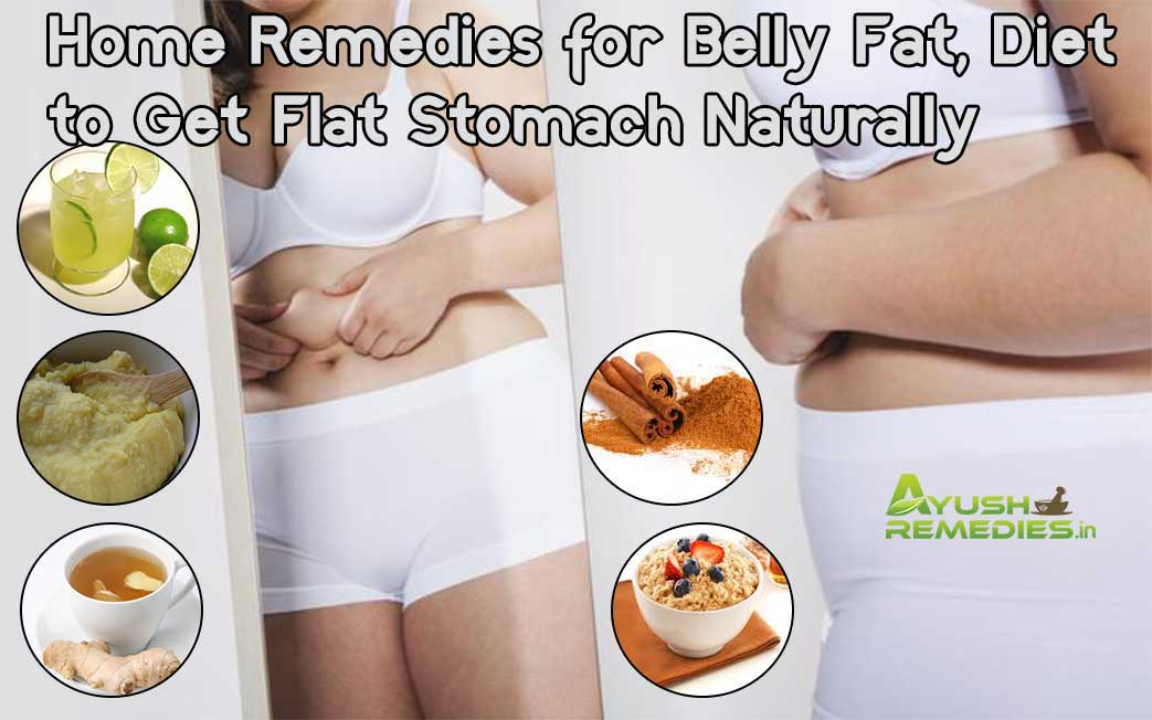 how to make stomach flat naturally
