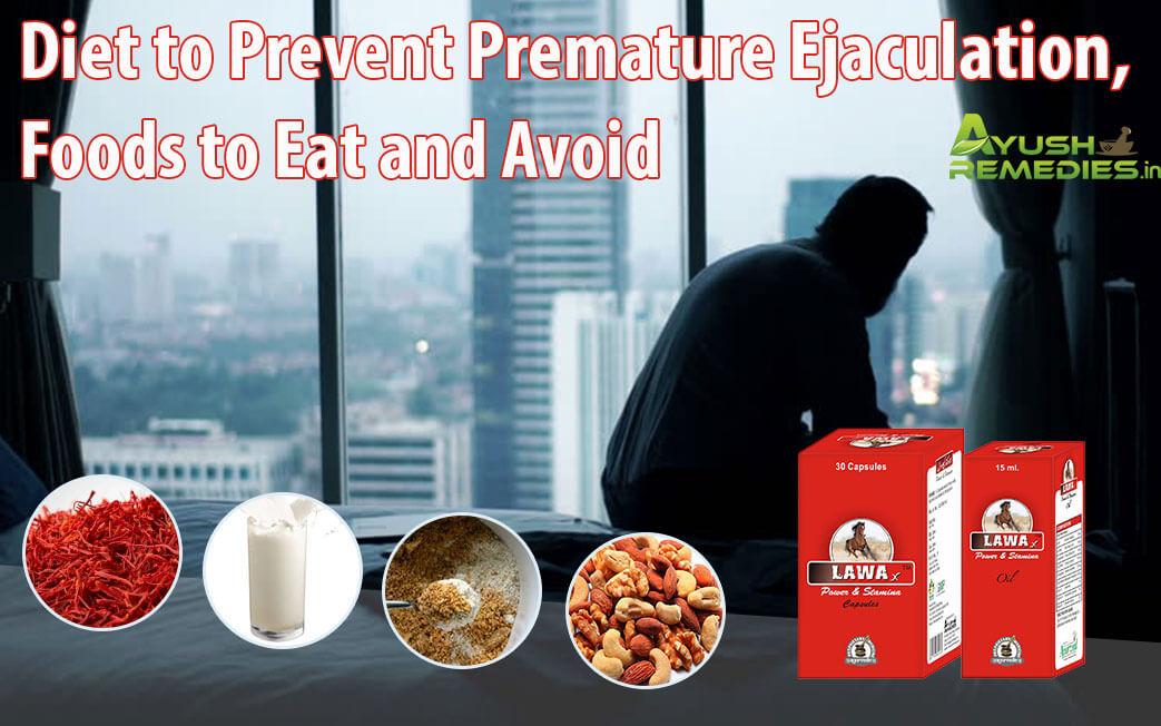 Diet to Prevent Premature Ejaculation