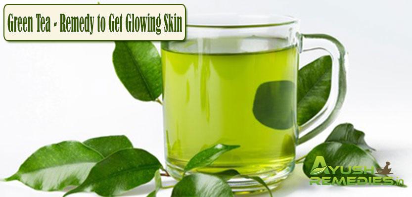 Green Tea Remedy to Get Glowing Skin