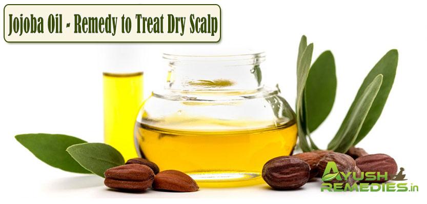 Jojoba Oil Remedy to Treat Dry Scalp