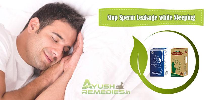 Stop Sperm Leakage While Sleeping