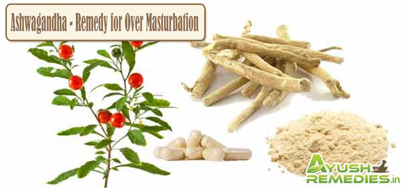 Ashwagandha Remedy for Over Masturbation