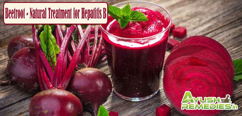 Beetroot Natural Treatment for Hepatitis B