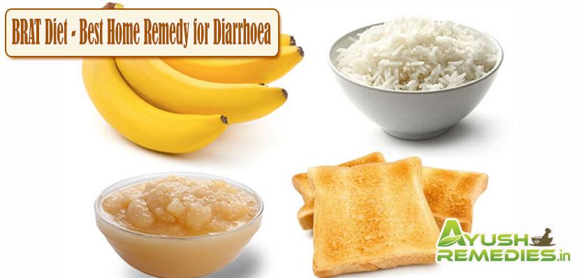 Brat Diet Remedy for Diarrhoea
