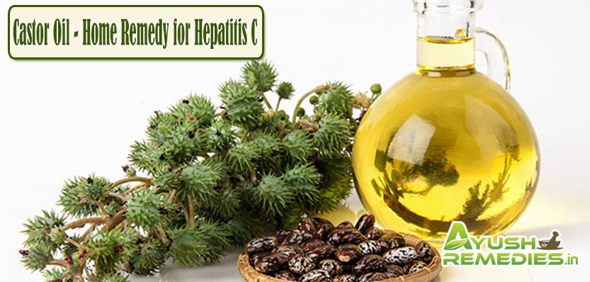 Castor Oil Home Remedy for Hepatitis C