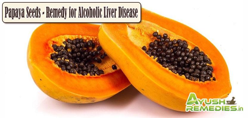 Papaya Seeds Remedy for Liver