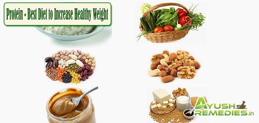 Protein Best Diet to Increase Healthy Weight