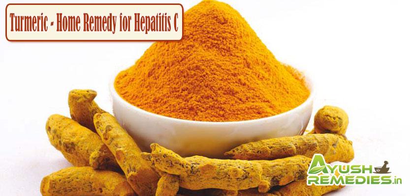 Turmeric Home Remedy for Hepatitis C