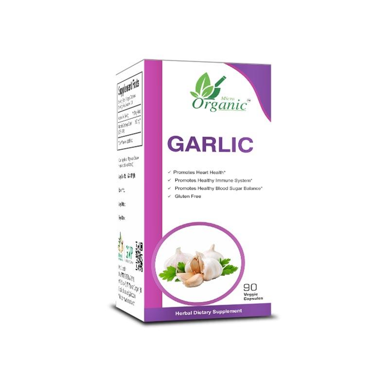Best Organic Garlic Supplements in India