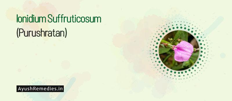 Purushratan (Ionidium Suffruticosum)